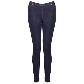 View Item Blue Denim Leggings